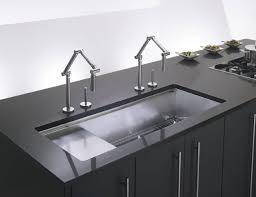 deck mount kitchen faucet kohler karbon articulating deck mount kitchen faucet gadget flow