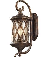 elk lighting 42031 2 barrington gate 9 inch wide 2 light outdoor