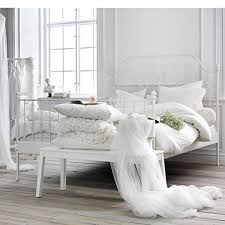 white bed frames queen white queen size bed frame white leather