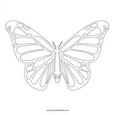 monarch butterfly coloring page printable pages click the to view