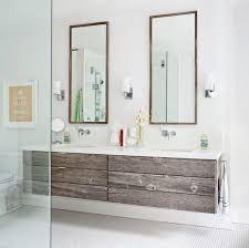 reclaimed wood bathroom mirror 20 amazing floating modern vanity designs reclaimed wood bathroom