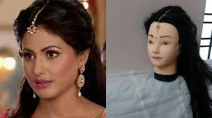 akshara wedding hairstyle akshara hina khan hairstyles in yrkkh diwali 2017 hairstyles hina