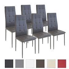 sedie per sala pranzo albatros sedia per sala da pranzo rimini set di 6 sedie grigio
