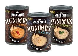 our all new sager creek vegetable company hummus is now available