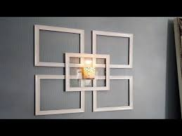 Dollar Store Home Decor Ideas Dollar Tree Picture Frame Wall Sconce Use What You Have