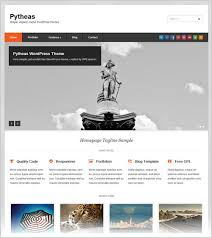 popular wordpress themes samples and templates