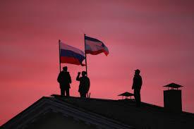 Eussian Flag Despite Triumph In Crimea Russian President Vladimir Putin