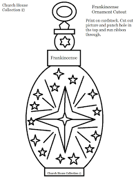 frankincense ornament cutout craft for sunday kids jpg