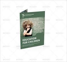 36 half fold brochure templates u2013 free psd eps ai indesign