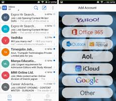 best email apps for android blue mail for android unified email client for gmail yahoo outlook
