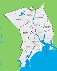 Neighborhood Map File Bridgeport Neighborhood Map With Labels Png Wikimedia Commons