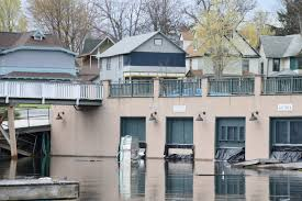 as st lawrence river and lake ontario continue to rise so does