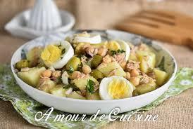 cuisine salade salade portugaise au thon et pois chiche amour de cuisine