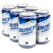 busch light aluminum bottles busch light beer 12oz can 6 pack beer wine and liquor