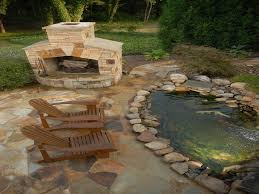 Hardscaping Ideas For Small Backyards by Small Backyard Hardscape Ideas Pond Abfb Amys Office