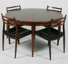 Round To Oval Dining Table Scandinavian Design Dining Table Rosewood Round Oval 1957