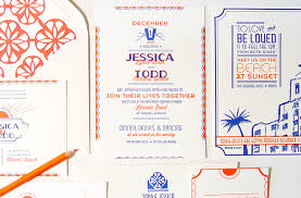 wedding invitations miami todd s deco letterpress wedding invitations