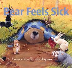 bear feels sick book karma wilson jane chapman official