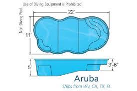 swimming pool sizes small pool sizes viking inground fiberglass swimming pools