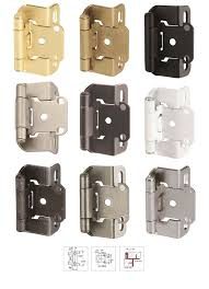 Non Self Closing Cabinet Hinges 87 Best Hinges Images On Pinterest Hardware Cabinet And Overlay