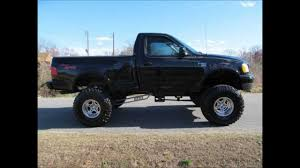 ford truck lifted 1999 ford f 150 xlt lifted truck for sale youtube