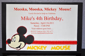 mickey mouse invitation template best resumes