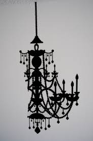 Chandelier Wall Stickers Etsy Shimmery Chic
