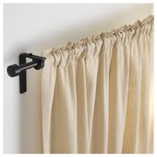 Cream Wooden Curtain Poles Interior Awesome Sears Curtain Rods For Window And Shower