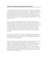 Sample Evaluation Essay Critical Thinking Evaluation Essay
