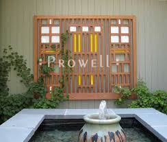 wall trellis design wood trellis panels 1 by prowell woodworks