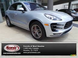 2015 porsche macan turbo 2015 rhodium silver metallic porsche macan turbo 94428593