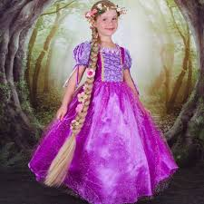 girls repunzel inspired halloween costume dress mia belle baby