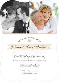 60th wedding anniversary invitations anniversary invitation wording 15th 20th 30th 35th 45th 60th