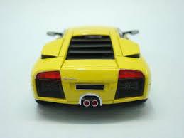 Lamborghini Murcielago Yellow - lamborghini murciélago prototype 1 18 mr collection models