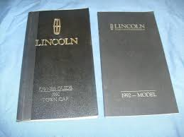 28 98 lincoln town car owners manual 46687 1989 lincoln