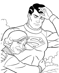 superman colouring 24 print color free
