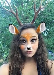 fawn headband antler doe headband realistic deer fawn costume wedding