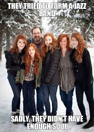 Family Photo Meme - ginger family justpost virtually entertaining