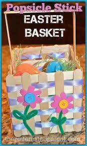 craft stick easter basket u2013 the pinterested parent
