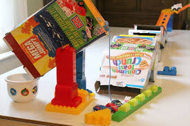 rube goldberg machine to pour cereal hands on as we grow