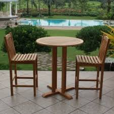 High Bistro Table Set Outdoor High Bistro Table Set Foter