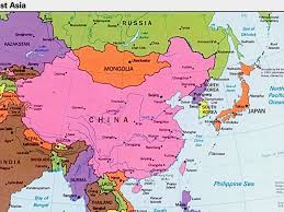 Map Of Eastern Asia by East Asia By Nathan Doyle