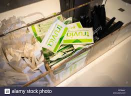Coffee Shop In New York Packages Of Of Truvia Sweetener Are Seen In A Coffee Shop In New