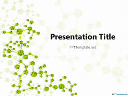 biology ppt template free nature powerpoint templates design