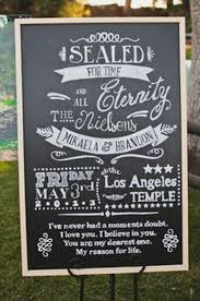 chalkboard wedding program 15 unconventional unique wedding ceremony ideas new times