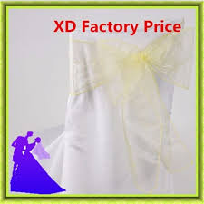 cheap chair sashes for sale 18 275cm organza cheap wedding chair sash for sale decoration in