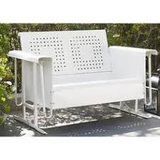 crosley bates sofa glider mod brushed aluminum outdoor sofa lime green cushions best lime