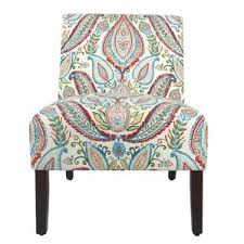 Paisley Accent Chair Blue Paisley Accent Chairs You U0027ll Love Wayfair