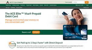 elite prepaid card www aceelitecard account login access