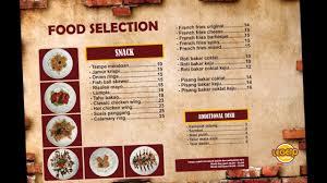 legend coffee malang menu